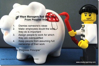 managers rob meaning