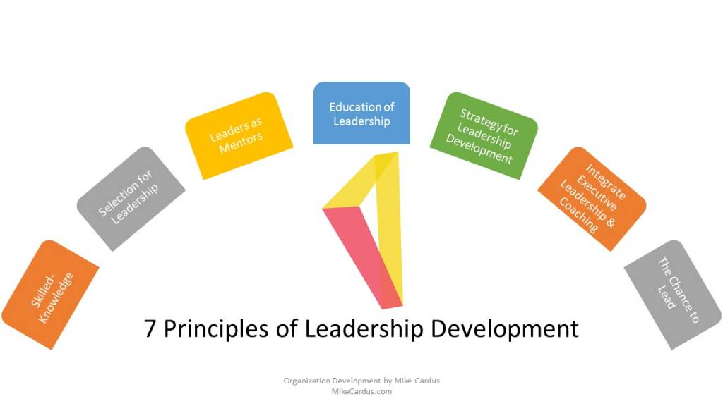 Principles of Leadership Development mike cardus