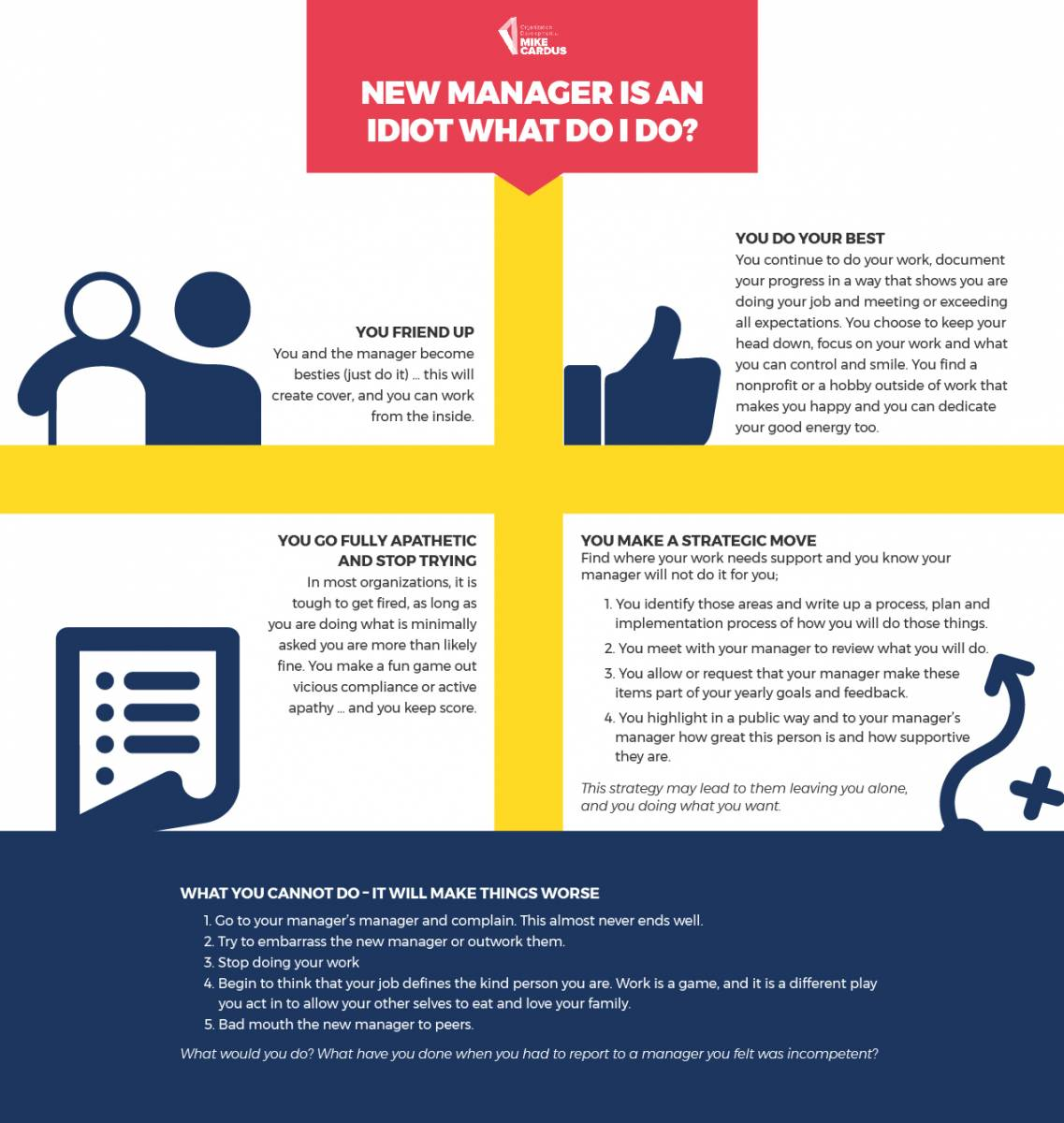 how to manage your boss managing up