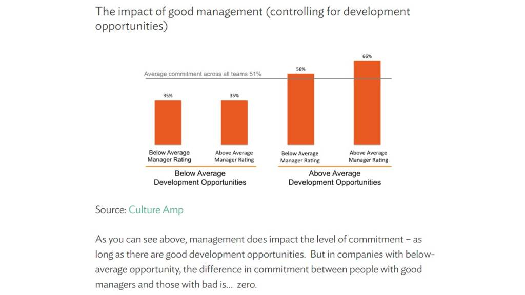 training and development opportunities beat bad managers mike cardus