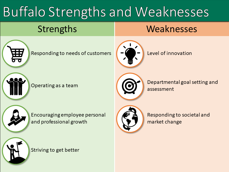 Buffalo NY business strengths and weaknesses