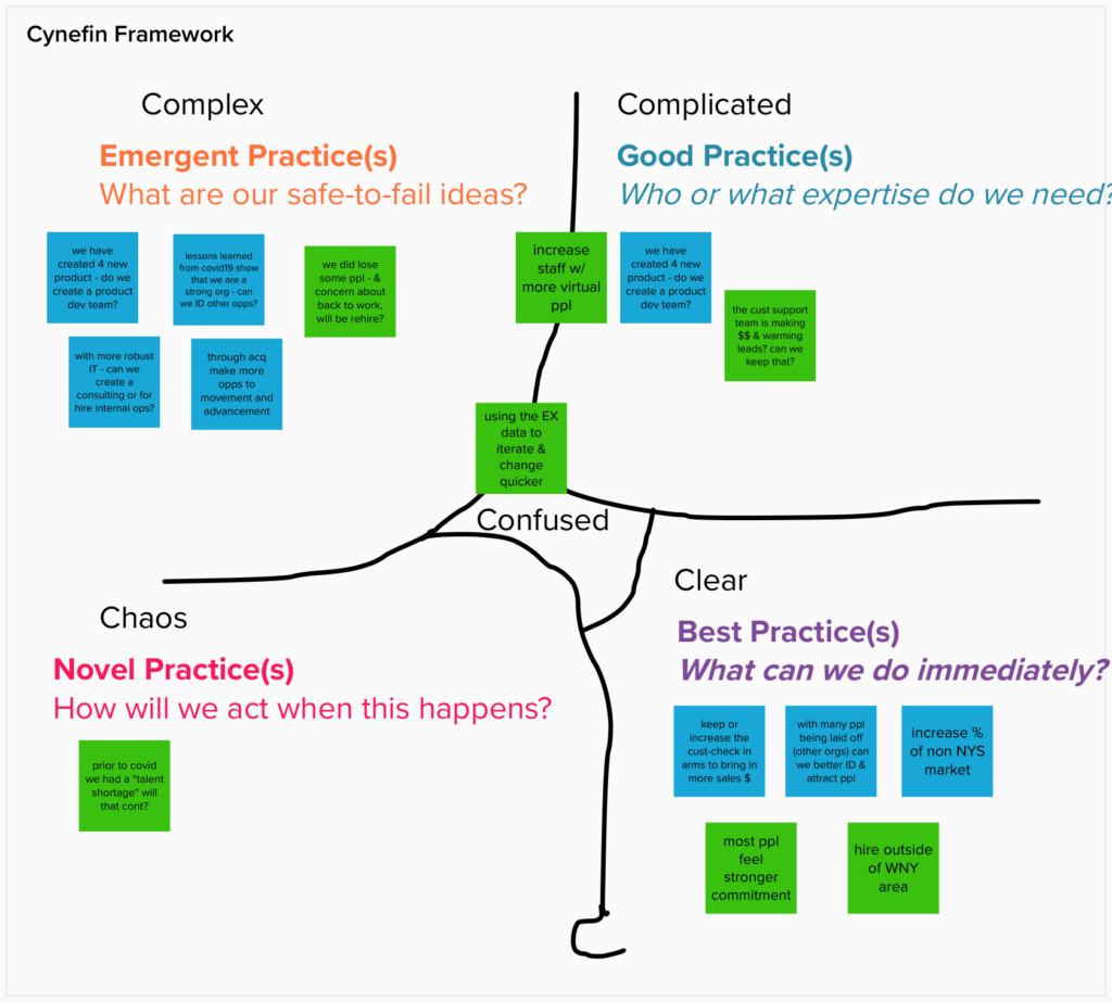 using cynefin to frame complexity and decision making with executive teams Mike Cardus