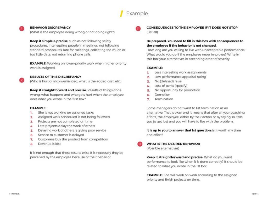 coaching analysis sample coaching document